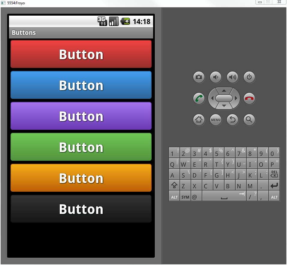 Gradient buttons for android – Dibbus.com